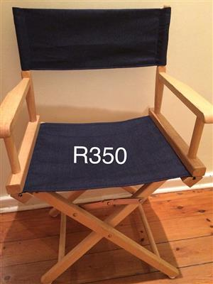 Wooden directors chair for sale