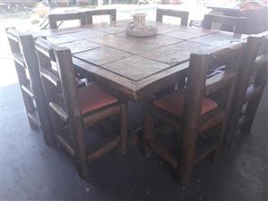 Patio tafel