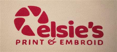 Elsies print and Embroid