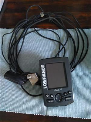 Lowrance mark4 fish finder.