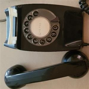 Rotary dail telephone