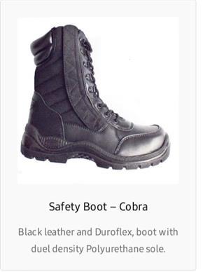 Cobra tactical boots