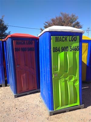 Mack Loo Toilet Hire & Sales - R 700 p/m