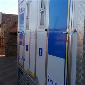 Mobile VIP toilets 4 hire