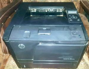 HP LaserJet Pro 400 Printer & New Toner