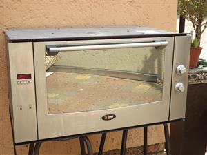 Bauer oven ,stainless steel , mirror