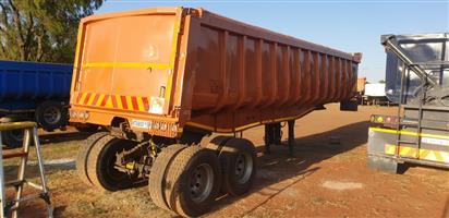 Henred Copelyn 30 cub End Tipper Double diff,Refurbished
