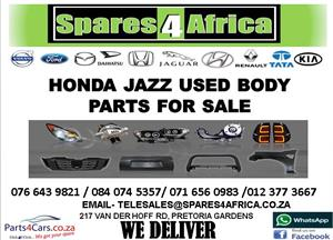 HONDA JAZZ USED BODY PARTS FOR SALE