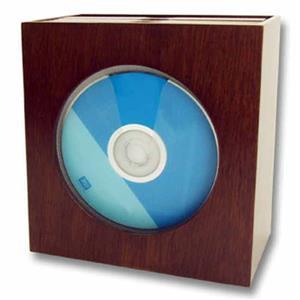 Mahogany wood CD holder!! On Special!!!