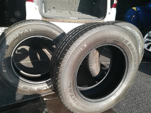 Continental Cross Contact 265 60 18 tyres for sale