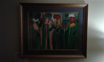 '95 Petro van Graan painting