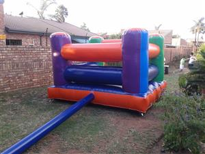3 x 3 meter Jumping Castle for sale. Blower included. 4 Months old.