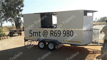 5mt food trailer