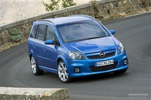 2006 Opel Zafira OPC