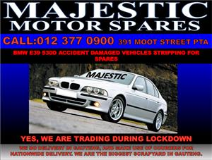 Bmw e39 520d stripping for used spares