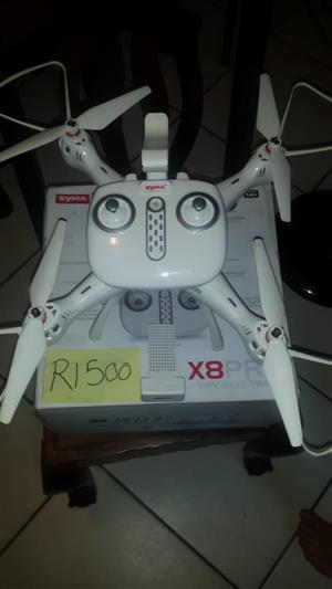SYMA X8 PRO DRONE  FOR SALE WITH EXTRA'S