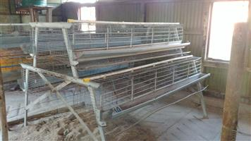 Used Chicken Layer cages