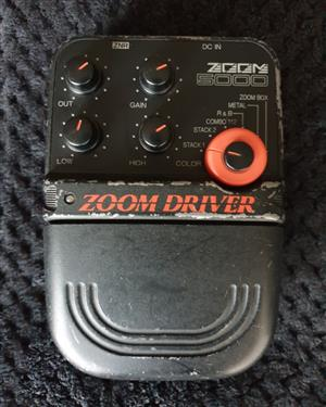 Zoom 5000 Zoom Driver - Guitar Distortion Effects Pedal