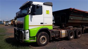 Volvo FH 440 D/D 6x4 truck,Hydraulics