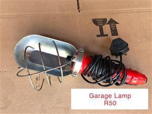 Garage lamp