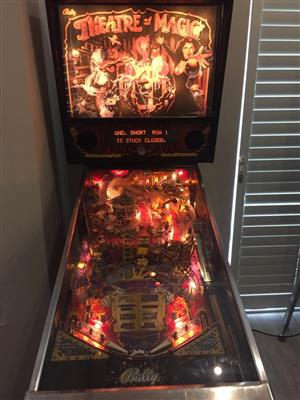 Pinball Machine by Bally