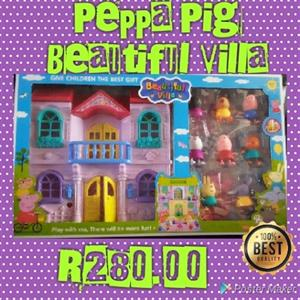 PEPPA PIGS HOUSE PLAYSETS