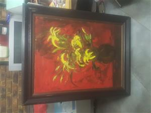"ORIGINAL ""NICHOLAS PRINSLOO "" PAINTING"