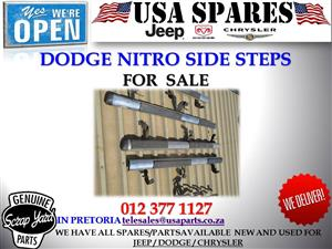 dodge nitro side steps