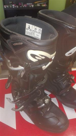Second Hand Alpinestars Tech 5 Boots - Size 11