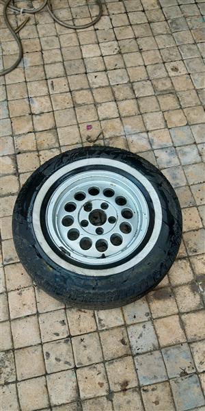 "VW Caravelle 14"" Rim & Tyre"