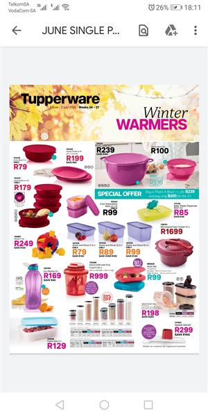 Tupperware June specials for you