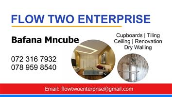 When it comes to your home don't mess with the rest, trust the best. Flow Two Enterprise!