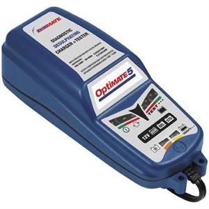 OptiMate 2 TM-420, 4-step 12V 0.8A Battery Charger-Maintainer