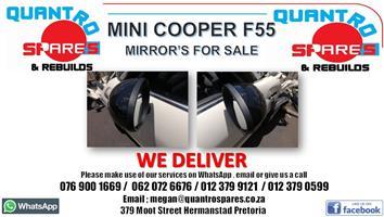 Mini Cooper F55 mirrors for sale