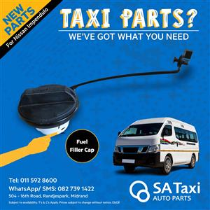 NEW Fuel Filler Cap suitable for Nissan NV350 Impendulo - SA Taxi Auto Parts quality spares
