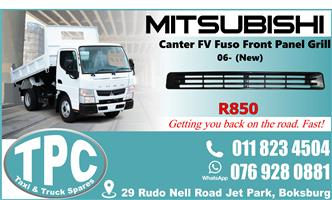 Mitsubishi Canter FV Fuso Front - New - Quality Replacement