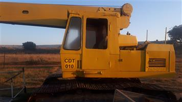 Bantam 18 T Crawler Crane