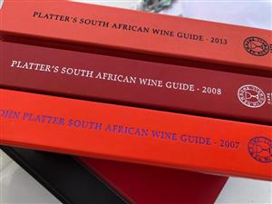 Platter's South African Wines 2007; 2008; 2013 editions