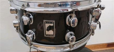 Limited edition Mapex black panther snare drum