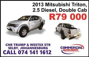 2013 Mitsubishi Triton 2.5DI D double cab