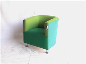 Green lola tub chair