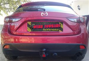 Mazda Standard/Detachable Towbars, Doubel Tube & Step Towbars