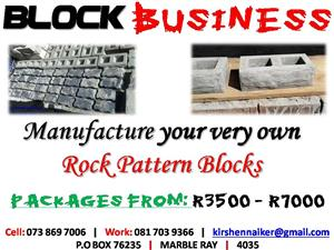 Start your own Rock Design Block Manufacturing Business