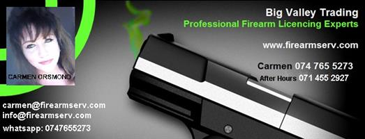 Firearm applications, new, renewals and lapsed renewals, imports and exports office