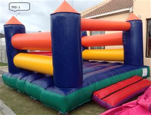 Jumping Castle For Sale (Unisex) 4x4m