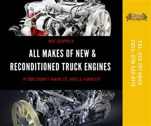 New & Used Truck engines