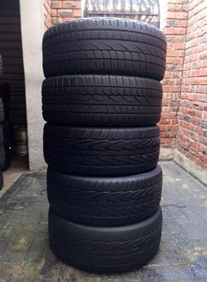 5 X 245/45R20 TYRES FOR R3000
