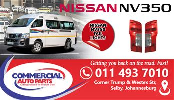 NISSAN NV350 TAIL LIGHTS