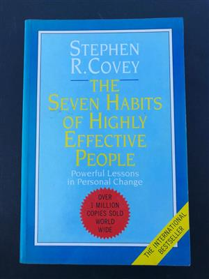 The 7 Habits of Highly Effective People: Powerful Lessons in Personal Change by Stephen Covey
