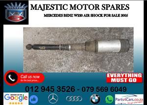Mercedes benz W220 air shocks for sale